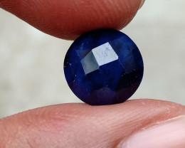 SAPPHIRE BLUE FACETED GEMSTONE GENUINE VA3907