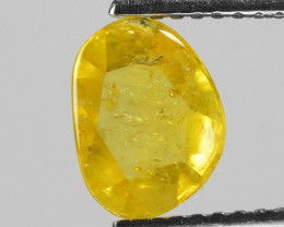 1.29 Cts Rare Fancy Yellow Color Natural Loose Diamond
