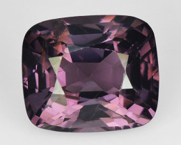 1.52 Cts Un Heated Very Rare Purple Color Natural Spinel Gemstone