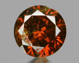 0.09 Sparkling Rare Fancy Intense Red Color Natural Loose Diamond