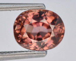 Brown Color 1.70 ct AAA Brilliance Natural Zircon ~ Cambodia
