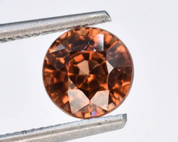 Brown Color 1.25 ct AAA Brilliance Natural Zircon ~ Cambodia