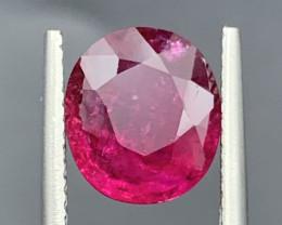 2.84 Carat Rubellite Tourmaline Gemstone