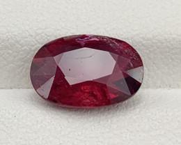 3.13 Carat Rubellite Tourmaline Gemstone
