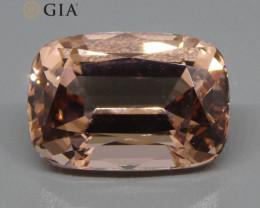 9.70ct Cushion Morganite GIA Certified