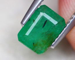 1.16ct Natural Zambia Green Emerald  Lot GW7702