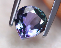 1.51ct Natural Violet Blue Tanzanite Pear Cut Lot GW7704