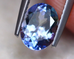 1.37ct Natural Violet Blue Tanzanite Oval Cut Lot GW7705