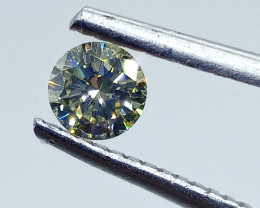 0.32ct  Fancy Green Diamond , 100% Natural Untreated