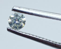 0.25ct  Light Yellow Diamond , 100% Natural Untreated