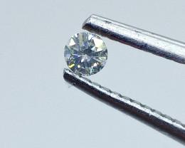 0.115ct  Light Yellow  Diamond , 100% Natural Untreated