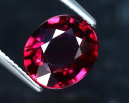 Rhodolite 2.11Ct Natural VVS Purplish Red Rhodolite Garnet EF1523/A5