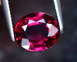 Rhodolite 2.02Ct Natural VVS Purplish Red Rhodolite Garnet EF1524/A5
