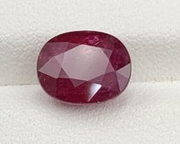 3.77 Carat RubelliteTourmaline Gemstone