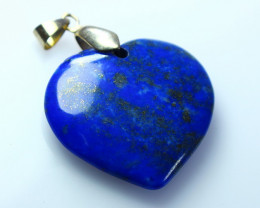 52.90 CTs Natural - Unheated Blue Lapis Pendant
