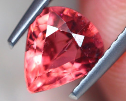 1.13Ct Natural Pink Tourmaline Pear Cut Lot Z586