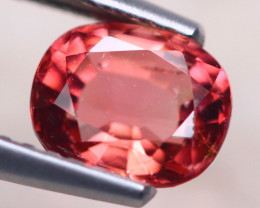 1.16Ct Natural Pink Tourmaline Oval Cut Lot Z587