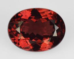 1.34 Cts Unheated Natural Cherry Pinkish Red Rhodolite Garnet Gemstone