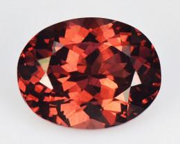 2.00 Cts Unheated Natural Cherry Pinkish Red Rhodolite Garnet Gemstone