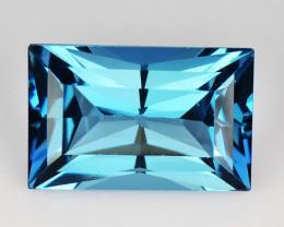 *No Reserve* London Topaz 3.57 Ct London Blue Natural Topaz Gemstone