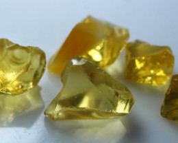 52.40 CTs Natural - Unheated Yellow Opal Rough Lot