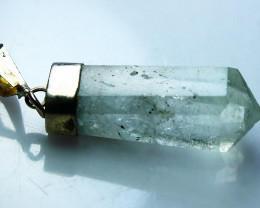 18.90 CTs Natural - Unheated Aquamarine Pendant
