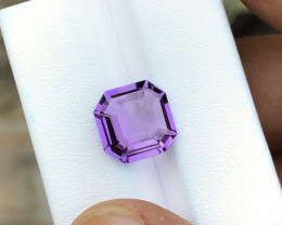 4.95 Ct Natural Purple Transparent Amethyst Gemstone