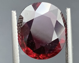 5.86 Carat Rubellite Tourmaline Gemstone