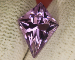 Master Cut Kite Shape Cut Amethyst Gemstone Cut by Master Cutter