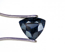 Spinel, 1.42ct – Triangle Cut – Deep Blue Color