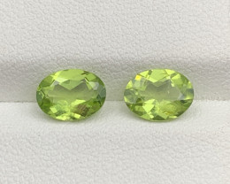 2.79 CT Peridot Gemstones