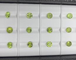 11.30 CT Peridot Gemstones Parcel