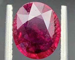 1.81 Carat Rubellite Tourmaline Gemstone