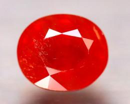 Sapphire 2.28Ct Natural Reddish Orange Sapphire D1605/B38