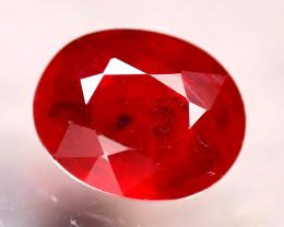 Sapphire 1.73Ct Natural Reddish Orange Sapphire D1606/B38