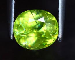 Sphene 1.21Ct Natural Rainbow Flash Green Sphene DF1630/B41