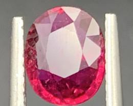 1.46 Carat Rubellite Tourmaline Gemstone
