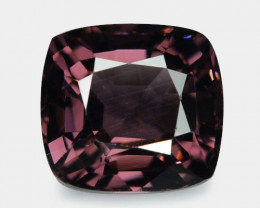 1.39 Cts Un Heated Very Rare Purple Color Natural Spinel Gemstone