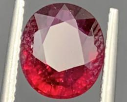 2.55 Carat Rubellite Tourmaline Gemstone