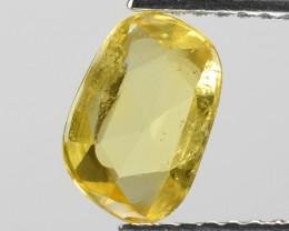 1.14 Cts Amazing Rare Natural Fancy Yellow Ceylon Sapphire Loose Gemstone