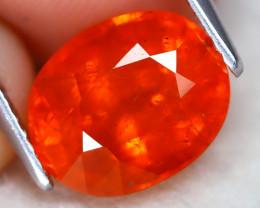 Mandarin Spessartite 5.37Ct Oval Cut Natural Spessartite Garnet B1313