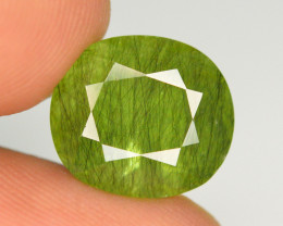 9.70 Ct Natural Beautiful Rutile Peridot Gemstone