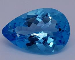 10.75Crt Natural Blue Topaz Natural Gemstones JI71