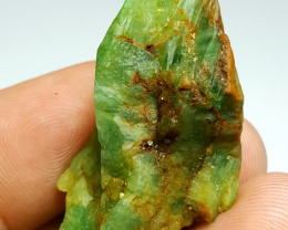 Amazing Natural color Damage free Emerald specimen 53Cts-Afghan