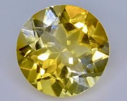 3.15 Crt Natural Citrine Faceted Gemstone.( AB 11)