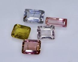 2.24 Crt Natural  Tourmaline Faceted Gemstone.( AB 11)