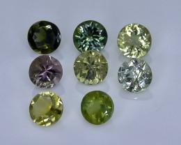 2.27 Crt Natural  Tourmaline Faceted Gemstone.( AB 11)