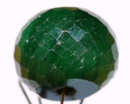 13.10  CTS EMERALD BEAD FACETED  CG-2114