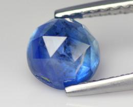 Cylon Sapphire 1.75 Cts Blue Rose Cut BGC601