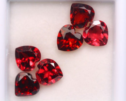 5.16ct Natural Rhodolite Garnet Heart Cut Lot Z591